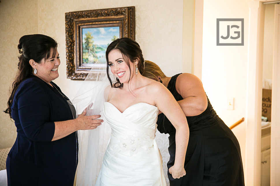 Seven Gables Inn Wedding Preparation