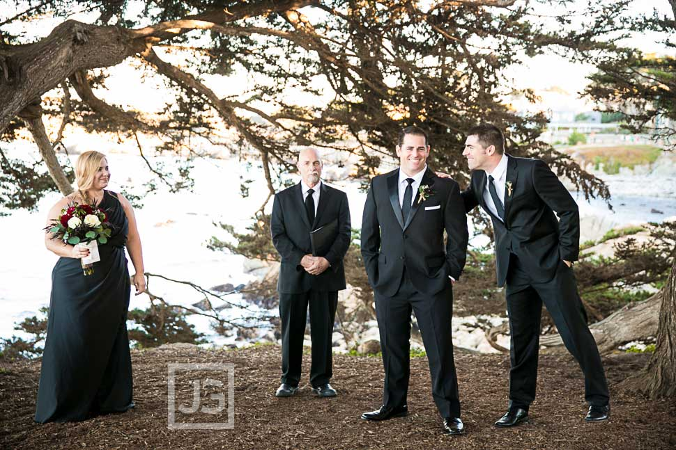 Berwick Park Pacific Grove Wedding Ceremony