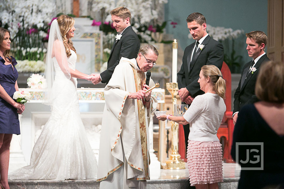 Saint Monica's Catholic Church Wedding Ceremony