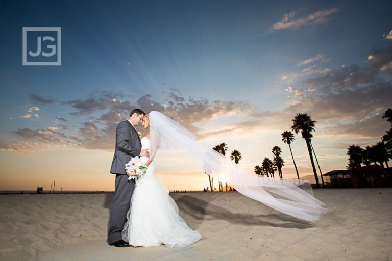 Casa Del Mar Wedding Photography, Santa Monica | B & W