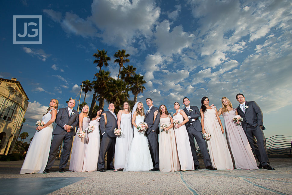 Casa del Mar Wedding Party Photos
