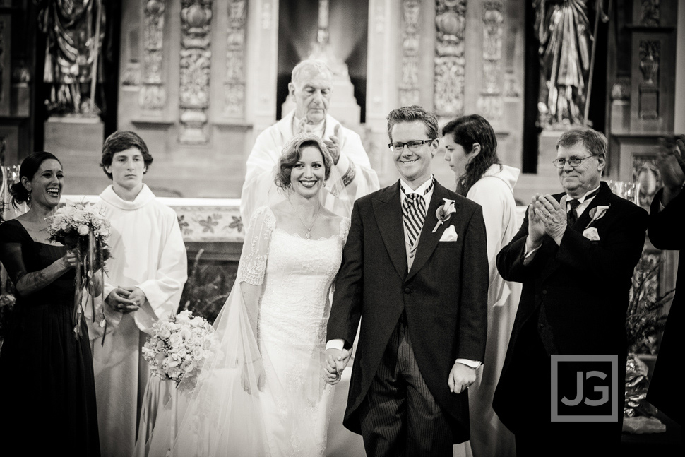 Holy Family Catholic Church Wedding Ceremony