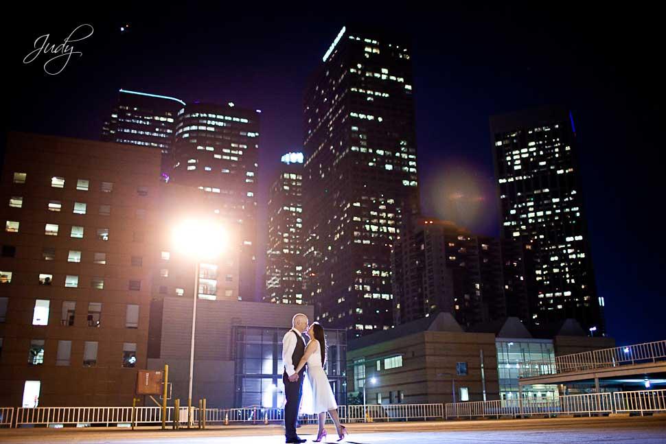 Downtown Los Angeles Engagement Photography   Carolina & David
