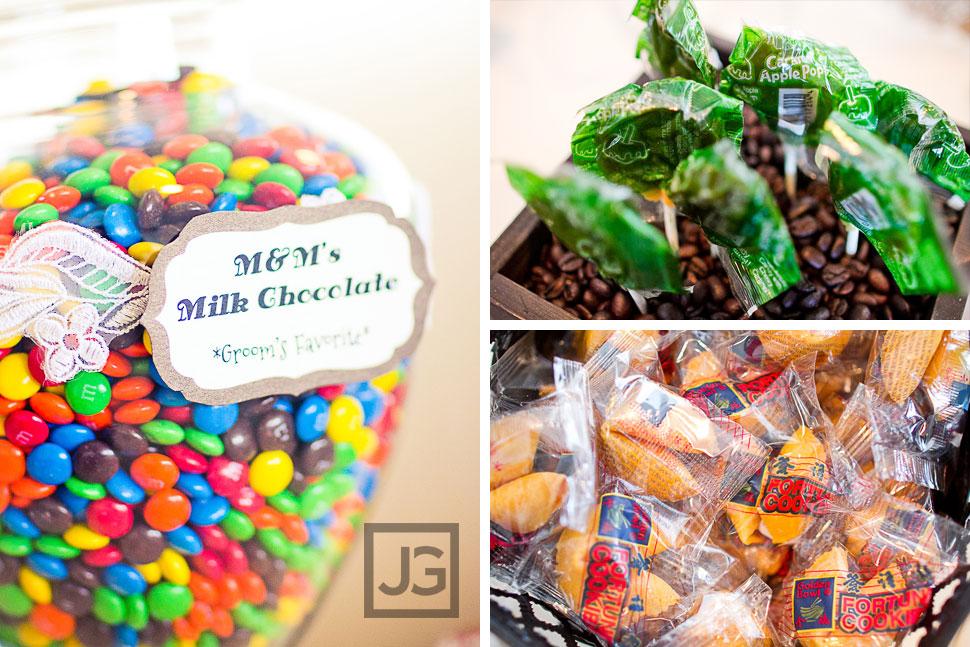 Hotel Maya Wedding Details Candy Bar