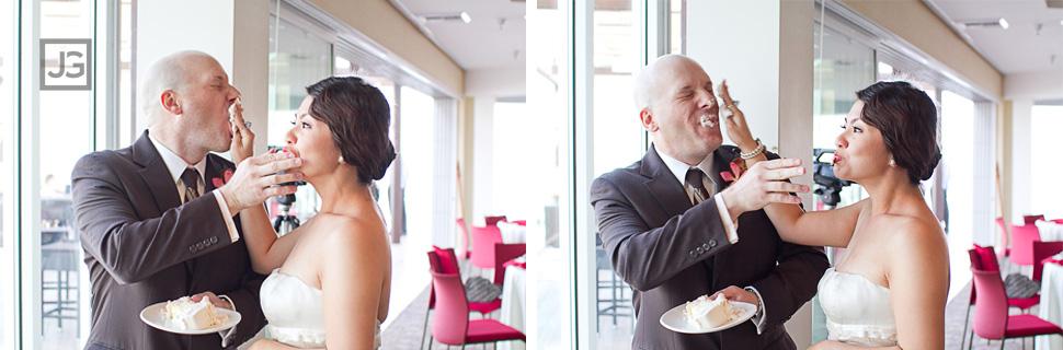 Hotel Maya Wedding Cake Cutting