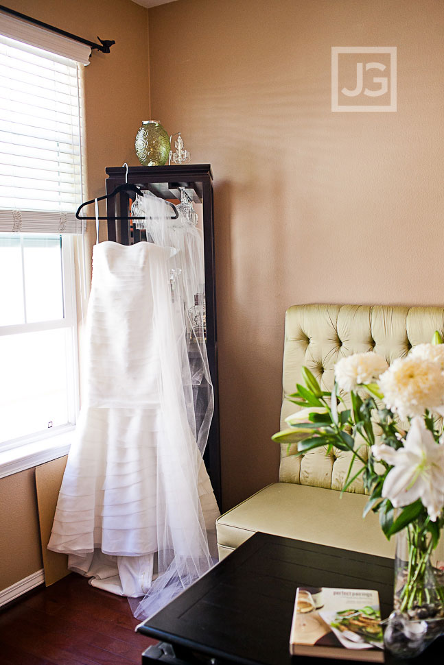 Long Beach wedding preparation