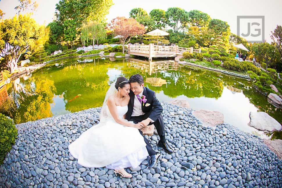CSULB Japanese Garden Wedding Photography | Christina + George