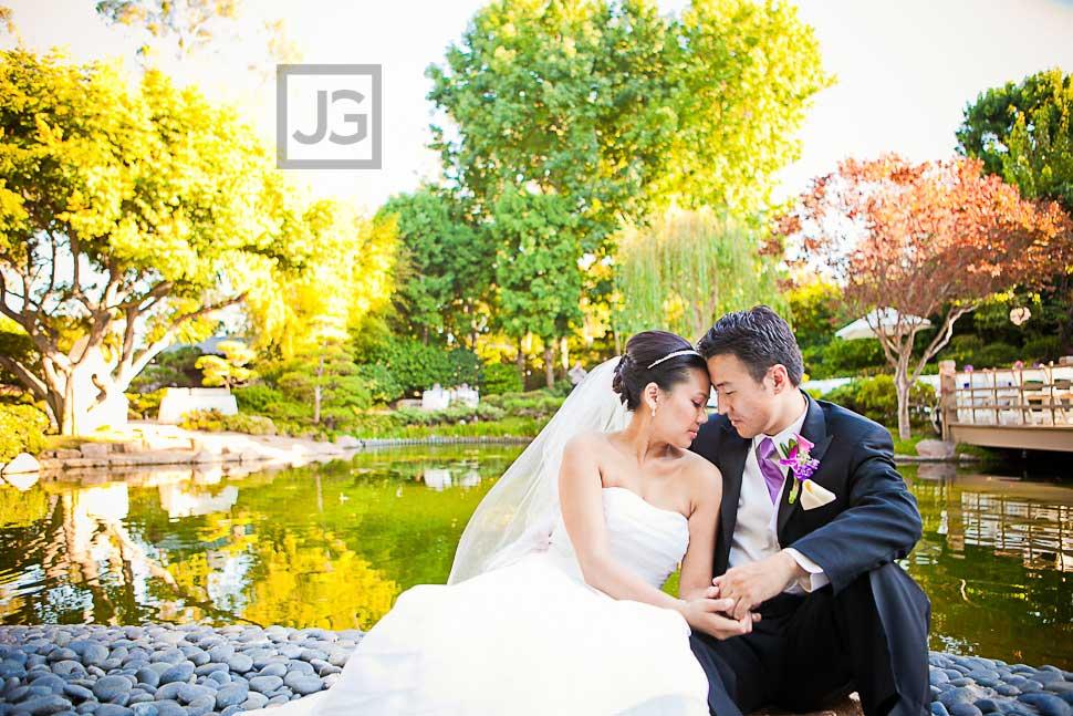 CSULB Japanese Garden Wedding Photography
