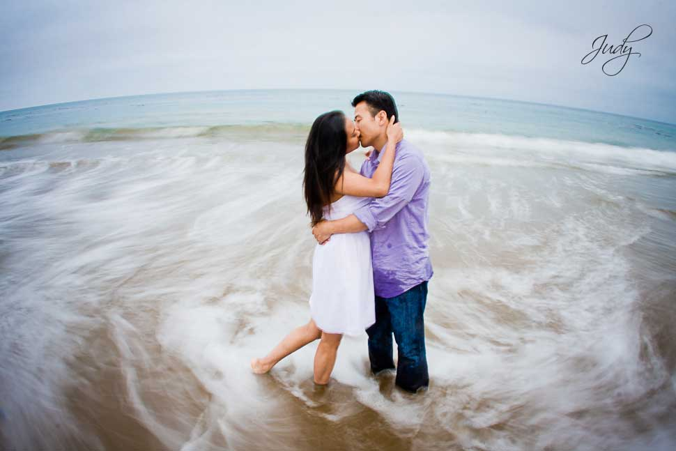 Palos Verdes Engagement Photography, Korean Bell | Christina + George