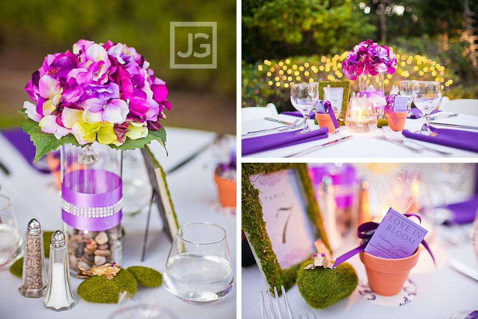 CSULB Japanese Gardens Wedding Reception Details