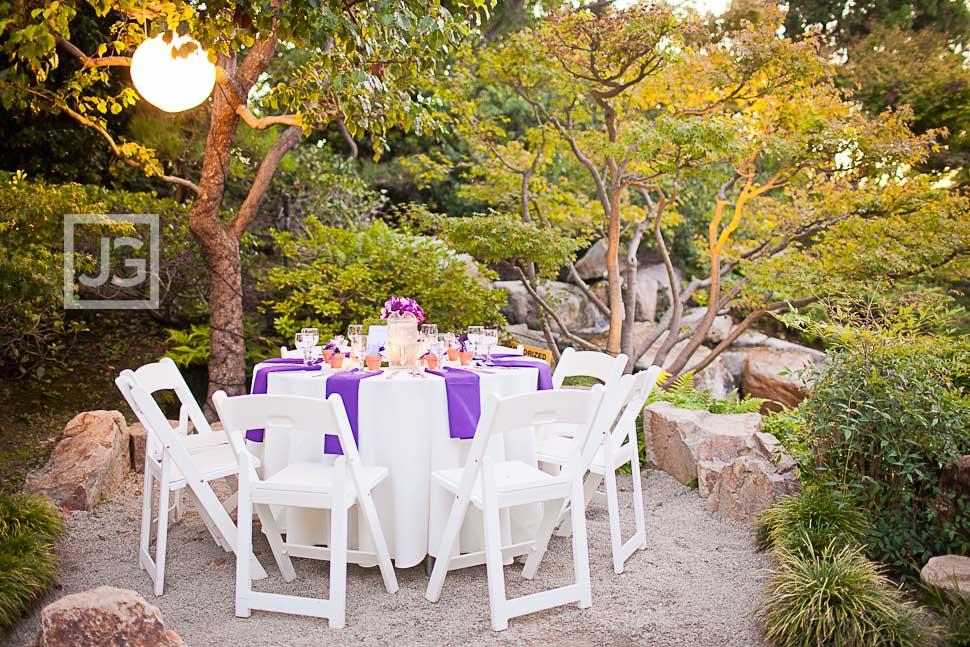 CSULB Japanese Gardens Wedding Reception