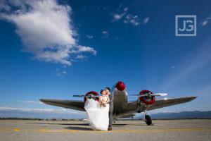 Cal Aero Events Wedding Photography Chino Airport | Inge & Danny