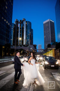 City Club Wedding Photography Los Angeles | Gina + Dan