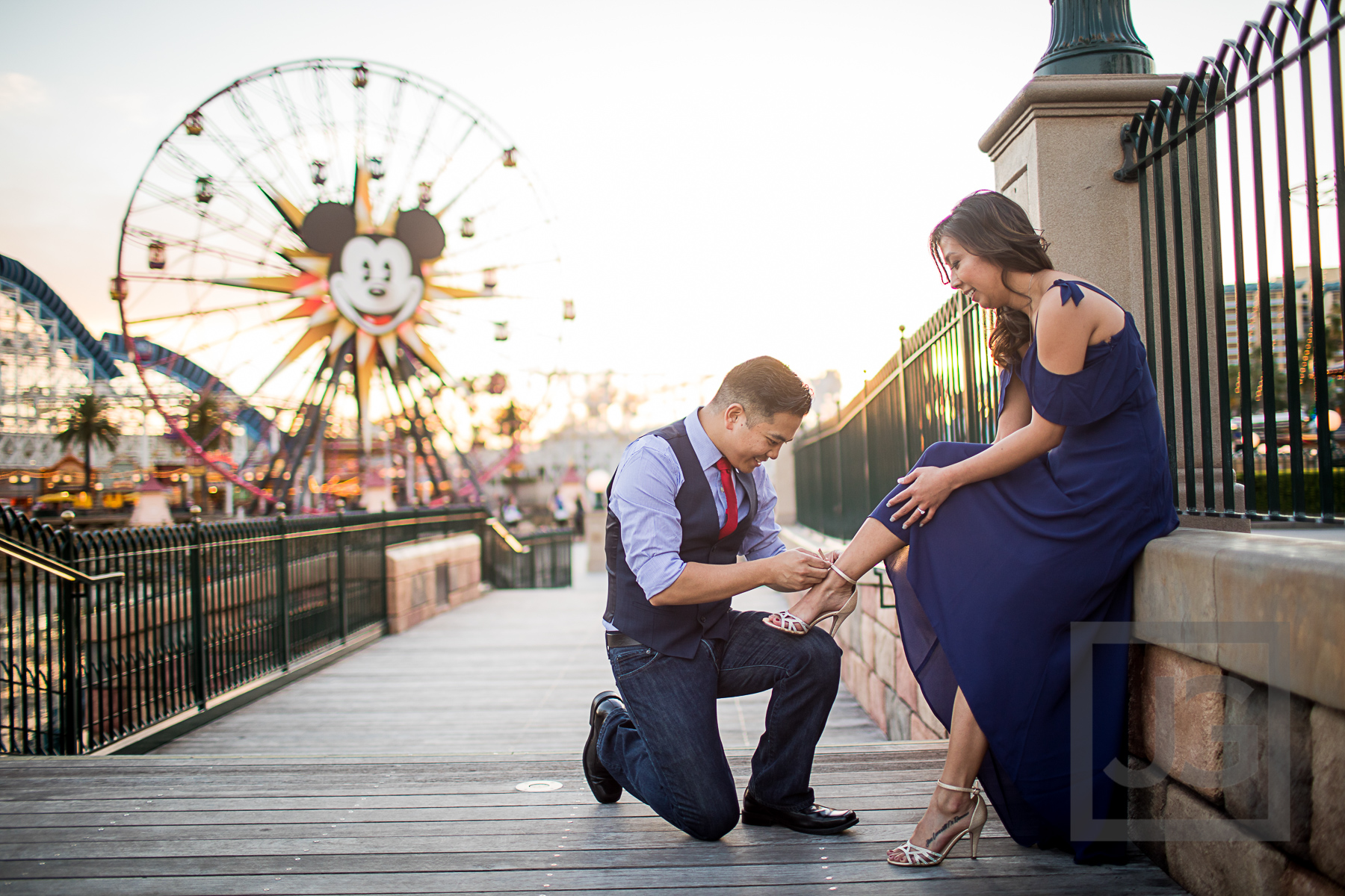 Disneyland Engagement Photography, California Adventures
