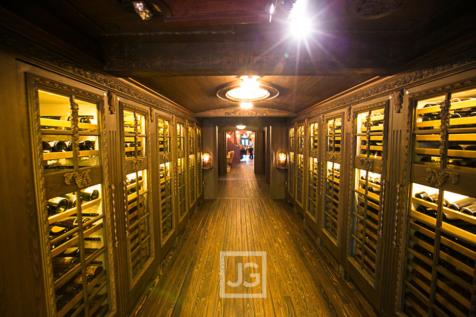 Club 33 Wine Cellar at Disneyland