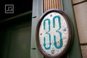 Club 33, Disneyland – Our 10 year anniversary dinner