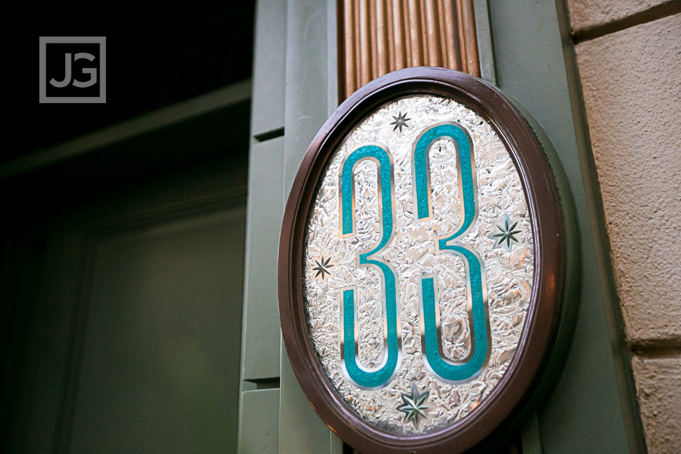 Club 33 Old Entrance at Disneyland