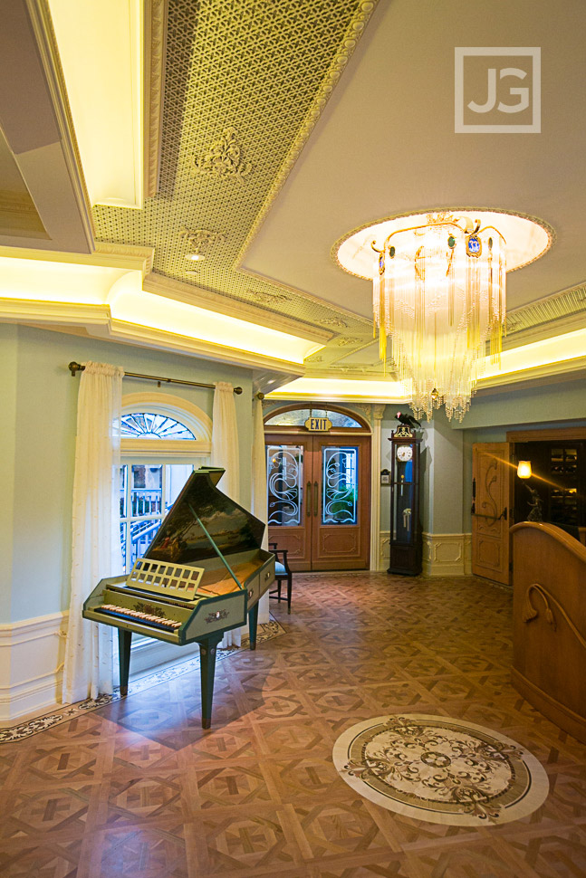 Club 33 Lobby at Disneyland