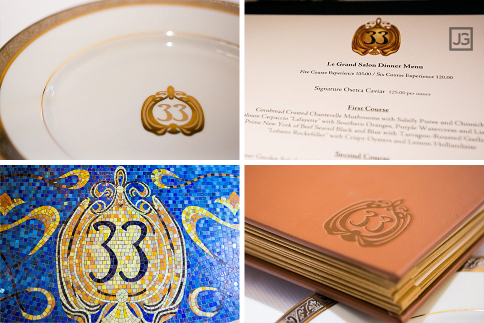 Club 33 Details at Disneyland