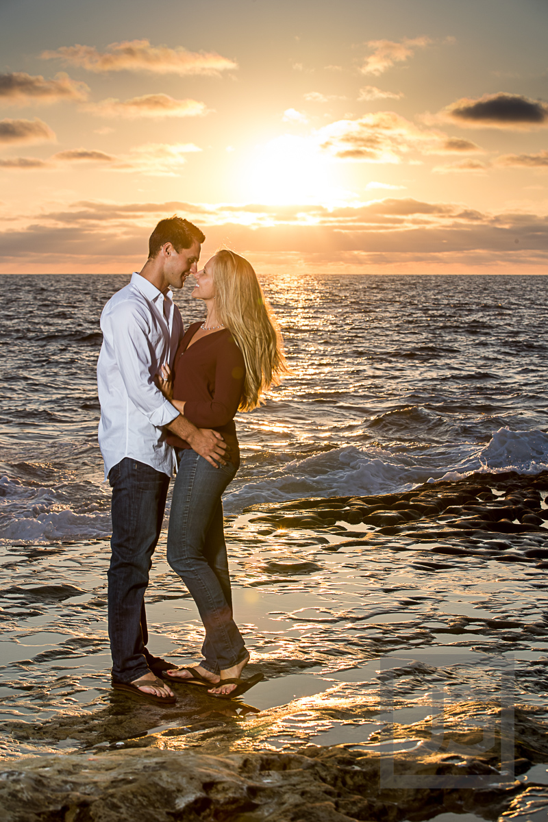 San Diego Balboa Park + Sunset Cliffs Engagement Photography | Cameron + Whitman