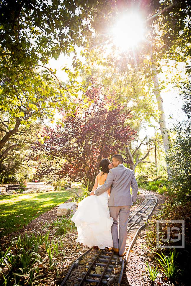 Descanso Gardens Wedding Photo