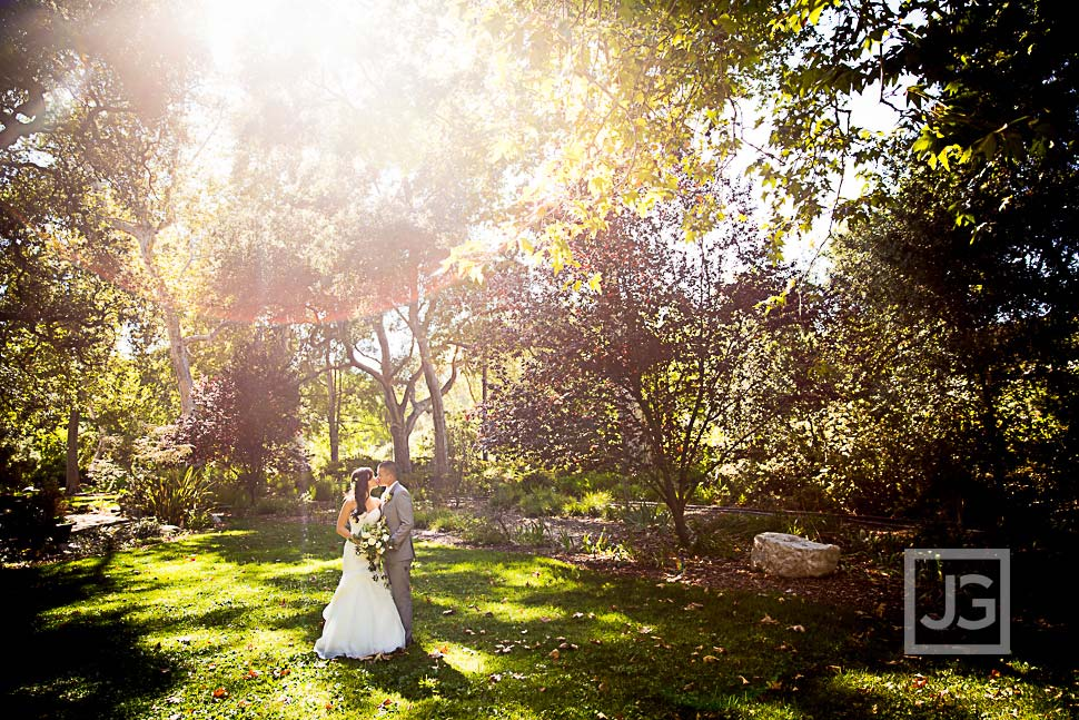 Wedding Photo Descanso Gardens