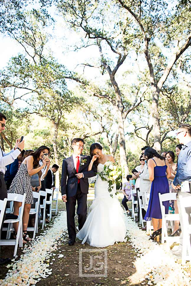 Descanso Gardens Wedding Ceremony