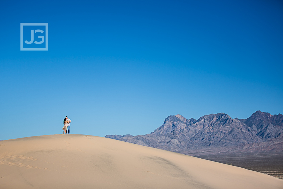 Sand Dunes Engagement Photography