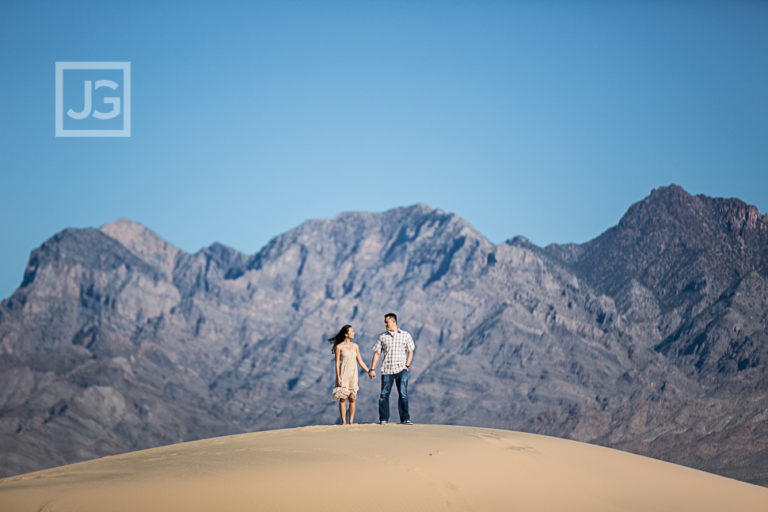 Desert Engagement Photography, Salt Flats + Sand Dunes | Mimi & Matt