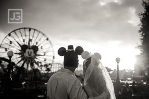 Disneyland Engagement Photos, California Adventures | Jill & Stephen