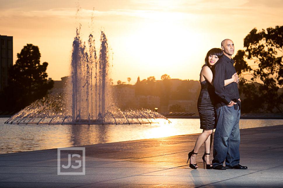 Union Station Engagement Photography Los Angeles| Jasmine + Marc