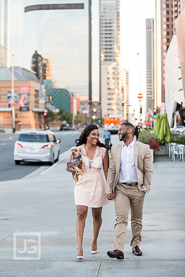 downtown-los-angeles-engagement-photo