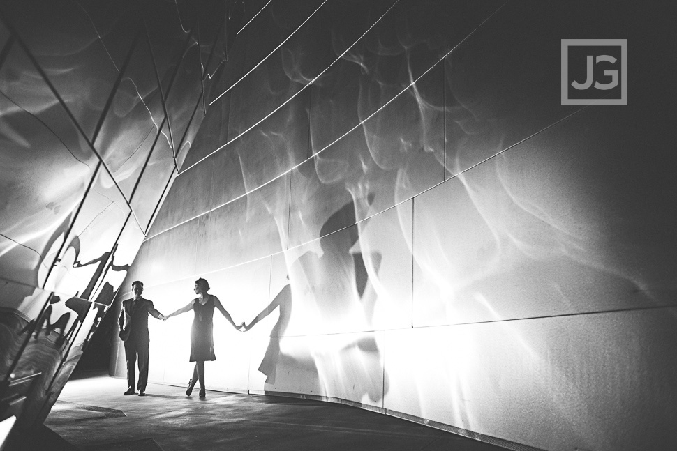 Walt Disney Concert Hall Engagement Photography