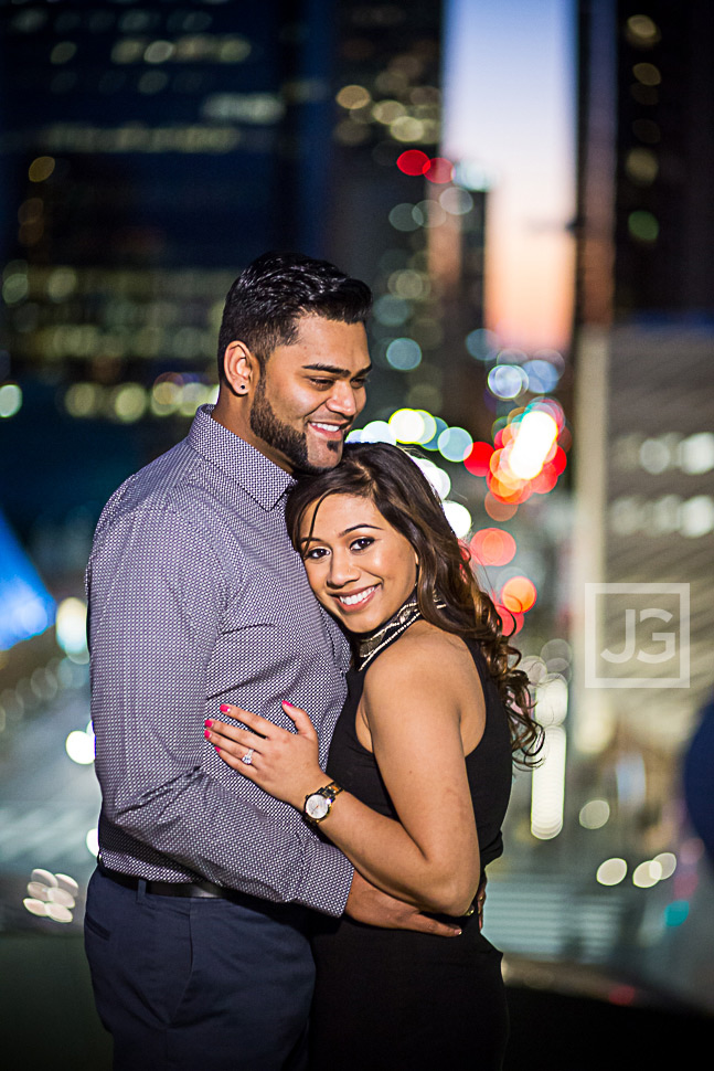 Los Angeles Engagement Portrait
