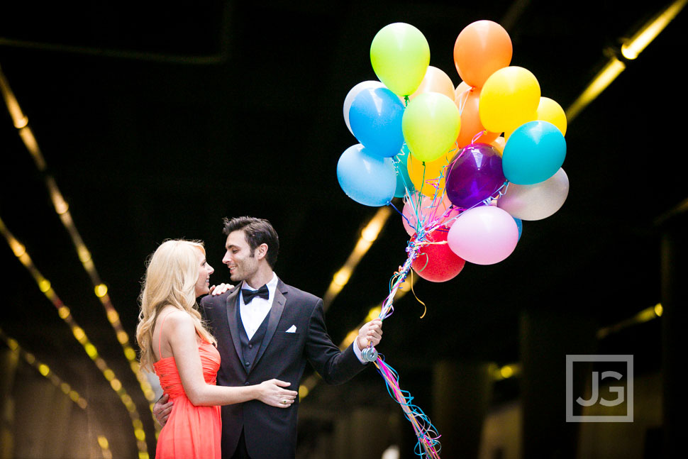 Engagement Photography Balloons
