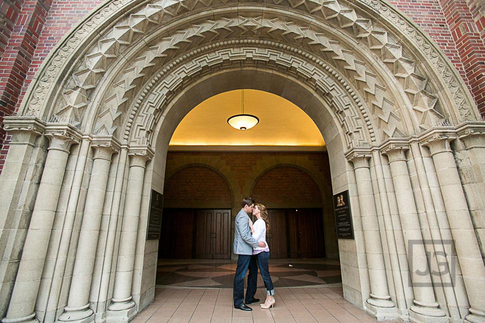 USC Engagement Photography