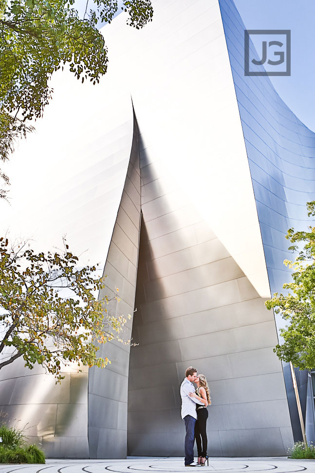 Walt Disney Concert Hall Engagement Photos