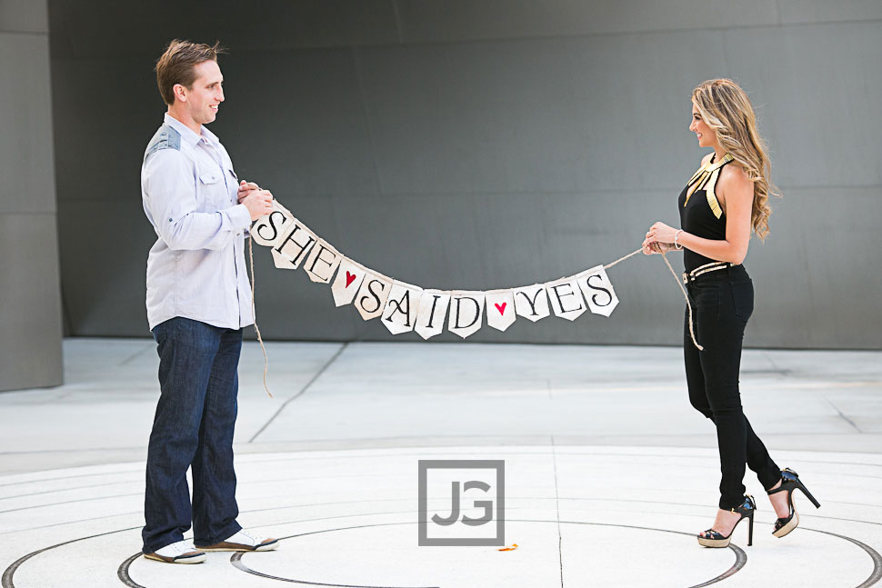 Walt Disney Concert Hall Engagement Photography