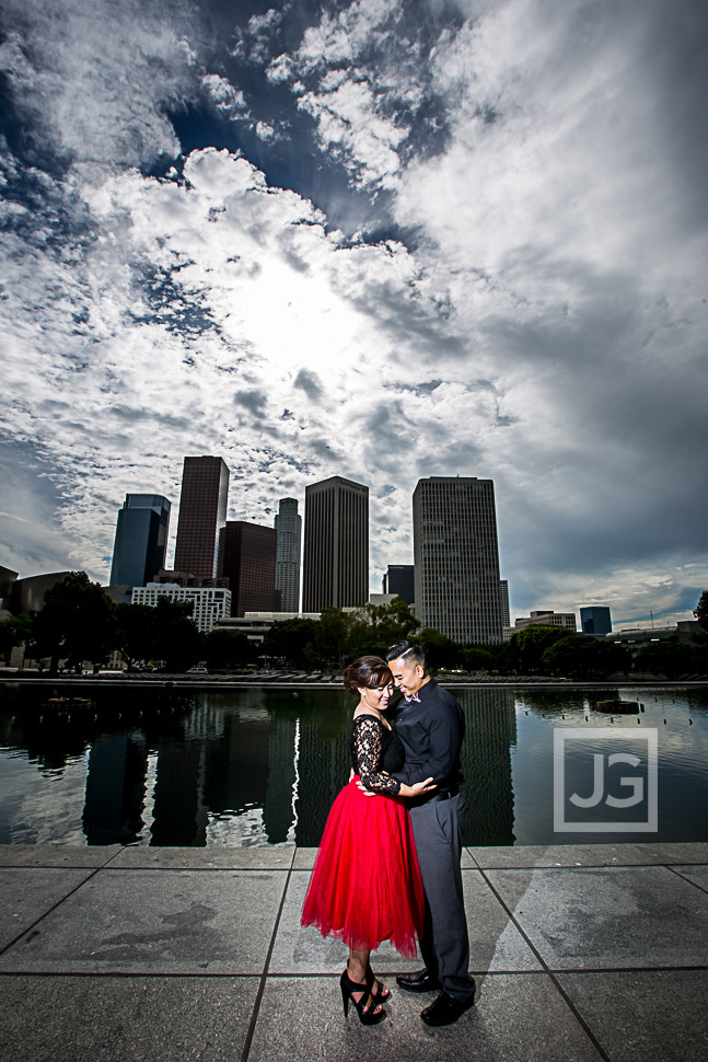 Arlington Garden, Pasadena & Downtown LA Engagement Photography | Kim & Sheng
