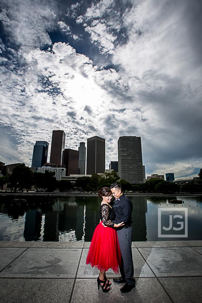 Arlington Garden, Pasadena & Downtown LA Engagement Photography   Kim & Sheng