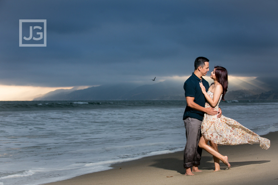 Santa Monica Engagement Photography, Los Angeles | Linda & Ryan