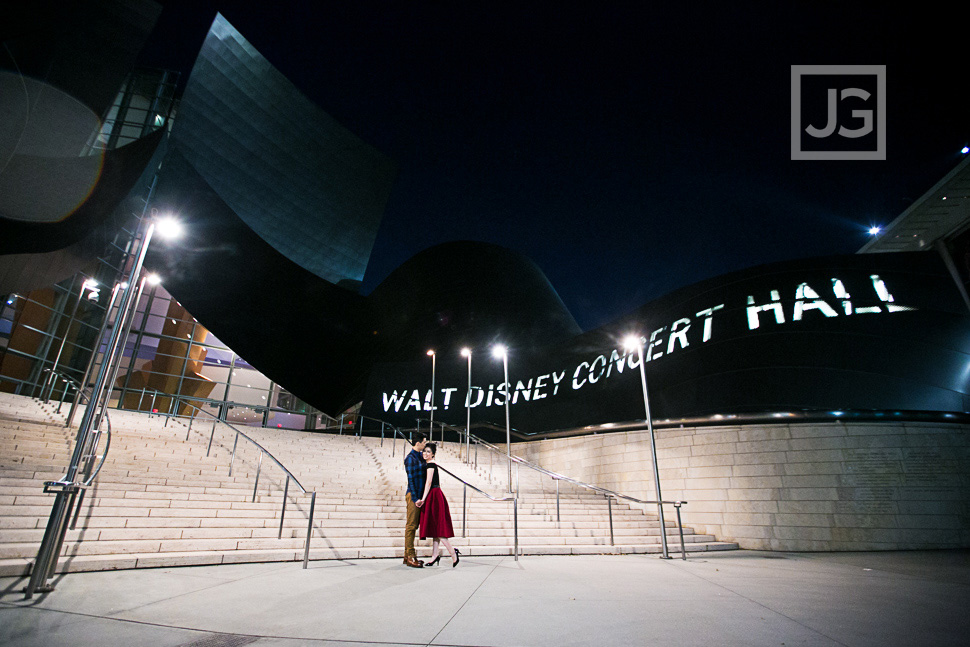 Walt Disney Concert Hall Front Entrance