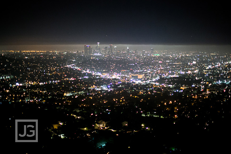 Griffith Park View of Downtown Los Angeles