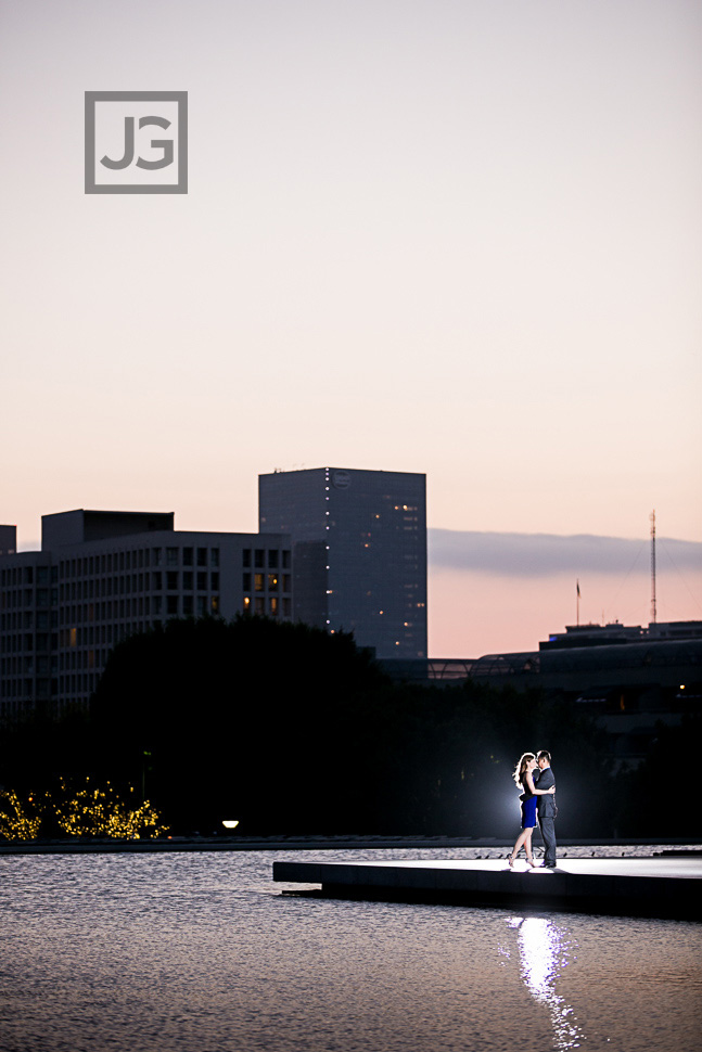 DWP Downtown Los Angeles Engagement Photography
