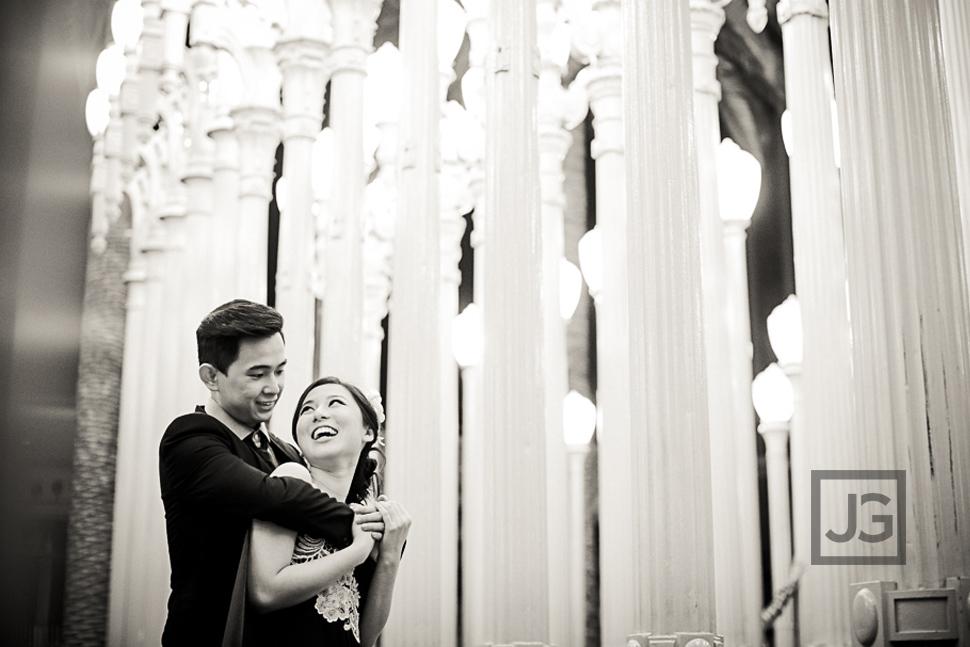 LACMA Wedding Photography