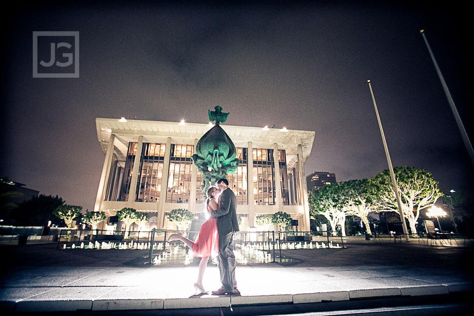 Dorothy Chandler Pavilion Engagement Photography