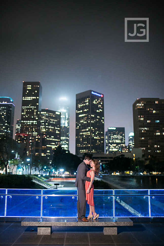 USC Engagement Photography Downtown Los Angeles | Shanine + Ron