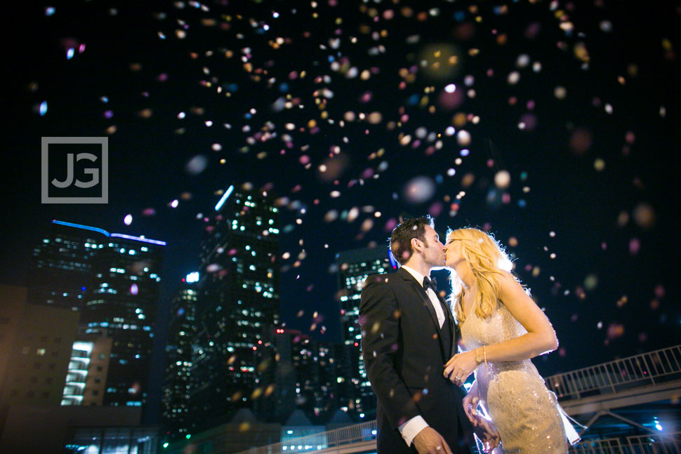 Confetti Engagement Photos