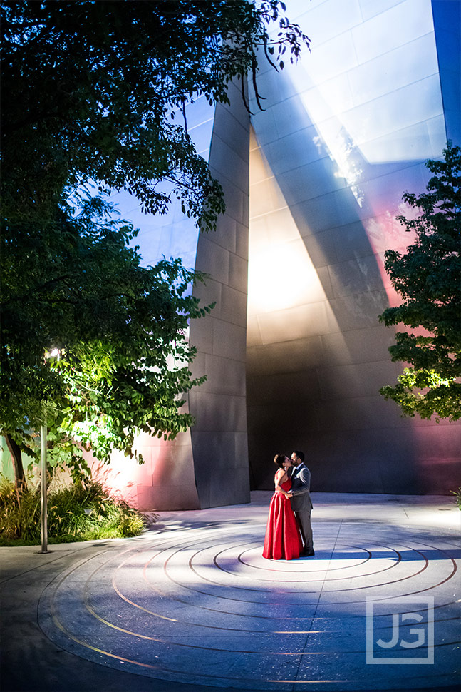 Walt Disney Concert Hall Engagement Photo