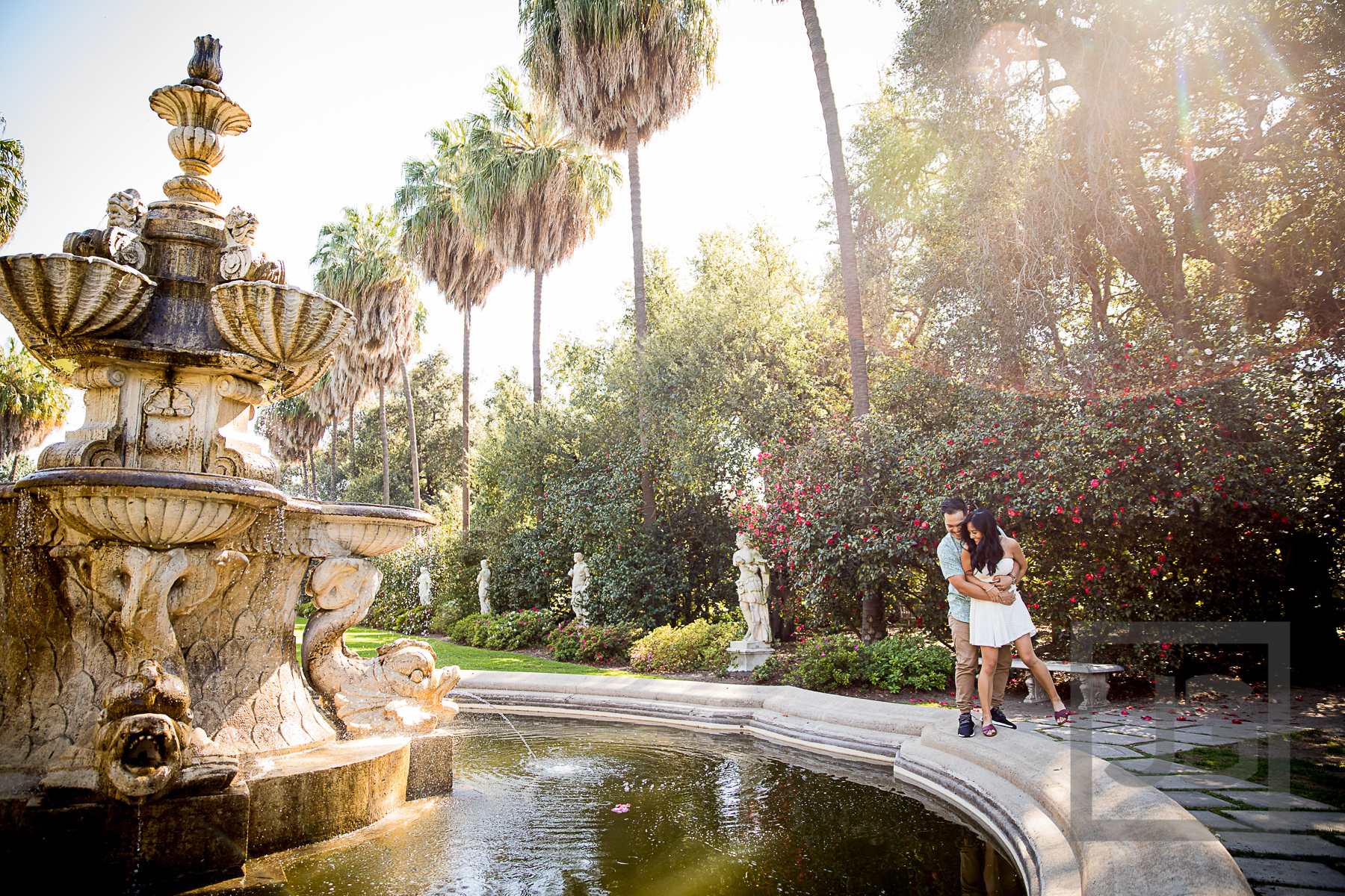 Engagement Photography Np004 Huntington Library